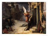 The Plague in Rome  1869