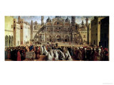 St Mark Preaching in Alexandria  Egypt  1504-07