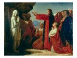 The Raising of Lazarus  1857