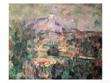 Montagne Sainte-Victoire from Lauves  1904-06