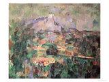 Montagne Sainte-Victoire from Lauves  1904-06