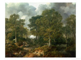 "Gainsborough's Forest (""Cornard Wood"")  circa 1748"