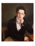 Portrait of Franz Schubert (1797-1828)  Austrian Composer  Aged 17  circa 1814