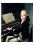 Portrait of Carl Graf Firmian at the Piano  Formerly Thought to be Mozart (1756-91)