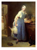 The Kitchen Maid with Provisions  1739