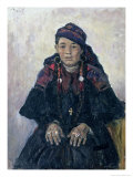 Portrait of a Cossack Woman  1909