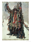 "A Shaman  Sketch for ""Yermak Conquers Siberia "" 1893"