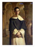 Portrait of Jean Baptiste Henri Lacordaire (1802-61)  French Prelate and Theologian  1841