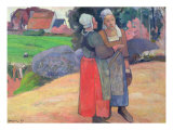 Breton Peasants  1894