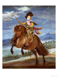 Prince Balthasar Carlos on Horseback  circa 1635-36