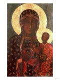 The Black Madonna of Jasna Gora  Byzantine-Russian Icon  14th Century