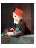 The Boy with the Cherries  1859