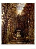 The Cenotaph to Reynold's Memory  Coleorton  circa 1833