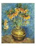 Crown Imperial Fritillaries in a Copper Vase  1886 (Oil on Canvas)
