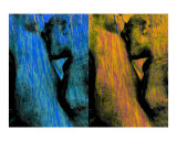 Kiss on Ice and Fire - Hommage to Auguste Rodin