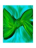 Broken Ties Series - Green/Cyan