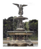 Bethesda Fountain  Central Park  New York