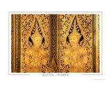 Door  Wat Pho  Thailand