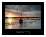 Heybridge Basin in Essex  England