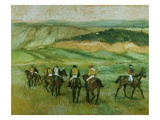 Before the Race Giclée par Edgar Degas
