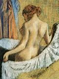 Après le bain Giclée par Edgar Degas