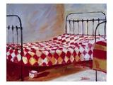 Checkered Bedspread