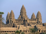 Central Towers of Angkor Wat  Cambodia