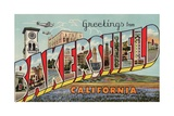 Greeting Card from Bakersfield  California