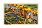 Greeting Card from Houston  Texas