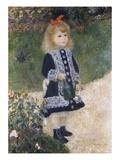 Fillette à l'arrosoir Giclée par Pierre-Auguste Renoir