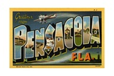 Greeting Card from Pensacola  Florida