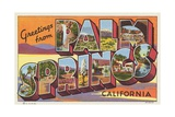 Greetings from Palm Springs Postcard