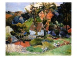 Landscape at Pont-Aven