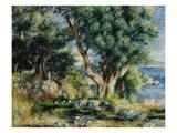Paysage près de Menton Giclée par Pierre-Auguste Renoir