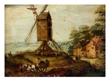 Landscape with a Windmill by Marten Ryckaert