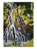 Kirifuri Waterfall  Mount Kurokami  Shimotsuke Province  from the Series A Journey to the Waterfall