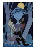 L'Olsarice Reproduction d'art par Georges Barbier