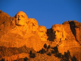 Mount Rushmore Memorial at Sunset