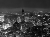 New York de nuit Papier Photo par Bettmann