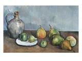 Cruche et fruits Giclée par Paul Cézanne