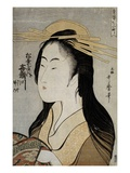 Portrait of Kisegawa of the Matsubaya