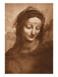 Portrait of St Anne by Leonardo da Vinci