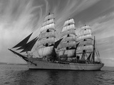 Sailing Ship Nippon Maru in Puget Sound