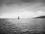 Sailboat in the Strait of Juan De Fuca