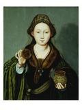 Saint Mary Magdalene Holding an Ointment Jar