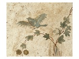 Detail of Roman Fresco Series at Oplonti Villa