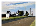 Route 6, Eastham Giclée par Edward Hopper