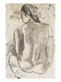 Tahitian Nude with Seated Back
