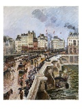 The Pont-Neuf  Afternoon of Rain
