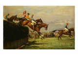 The Grand National Steeplechase: Really True and Forbia at Beecher's Brook